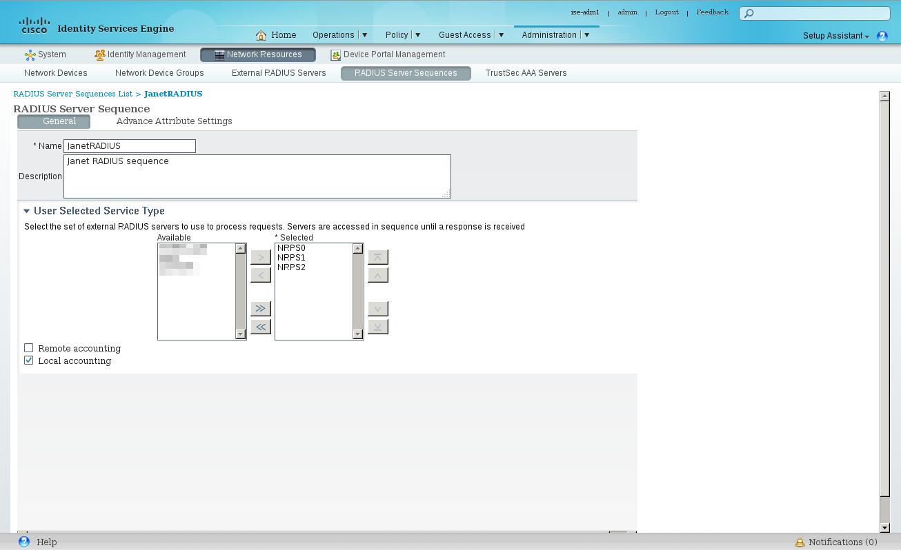 Cisco ISE 1 4 – Configuring Eduroam – config-if