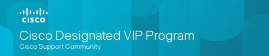 Cisco Designated VIP Program 2018