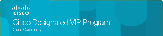Cisco Designated VIP Program 2019