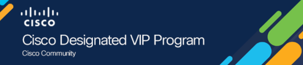 Cisco Designated VIP 2020