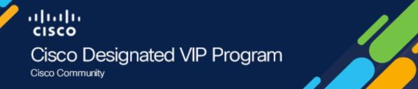 Cisco Designated VIP 2020